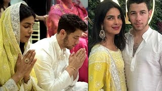 Priyanka Chopra & Nick Jonas ROKA Ceremony Photos | Priyanka Chopra Nick Jonas Engagement