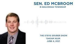Sen. McBroom joins Steve Gruber on WJIM