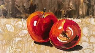 Acrylic painting/still-life/ap…