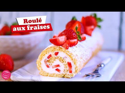 🍓-gÂteau-roulÉ-aux-fraises-🍓