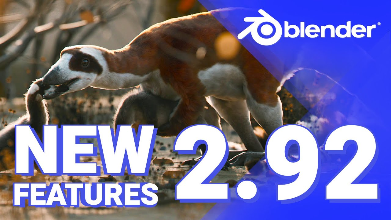 Blender 2.92 New Features in LESS than 5 Minutes
