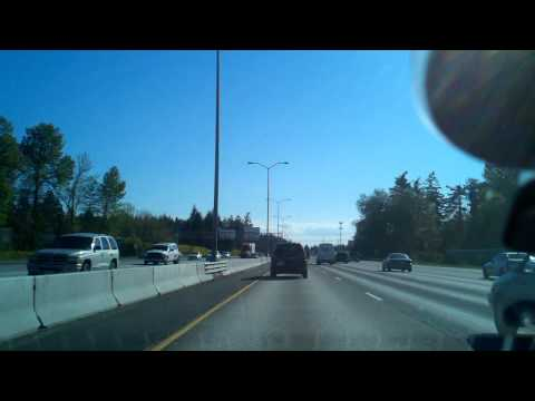 Driving from Tacoma, WA to Olympia WA