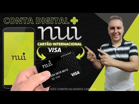 💳 CARTÃO NUI VISA INTERNACIONAL + CONTA DIGITAL, SEM CONSULTAS - LEANDRO VIEIRA