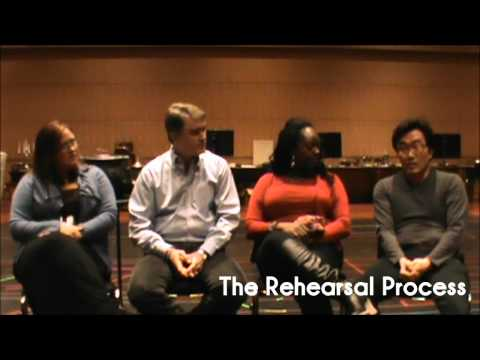 A Masked Ball Cast Interview : The Rehearsal Process