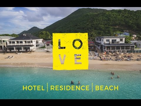 LOVE Hotel Beach & Residence in Saint Martin