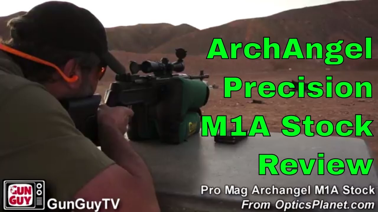 The ArchAngel Precision Stock for the M1A is awesome!