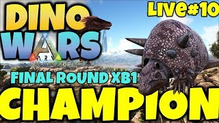 ARK DINO WARS #10 FINAL ROUND 2 XB1 LIVE! JOIN