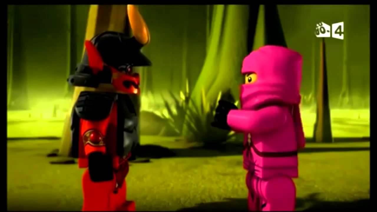 ninjago le ninja rose - YouTube