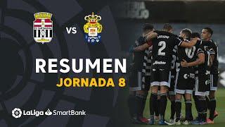 Resumen de FC Cartagena vs UD Las Palmas (3-0)