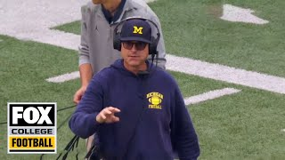 Coach Cam Jim Harbaugh: Michigan at Wisconsin | FOX SPORTS