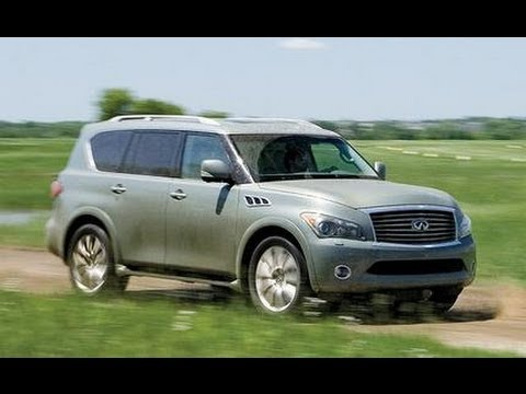 2012 Infiniti QX56 - Name That Exhaust Note, Episode 116 - CAR and DRIVER