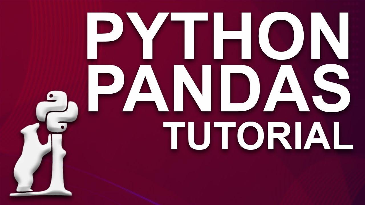 Python Pandas Tutorial   Data Analysis With Python Pandas