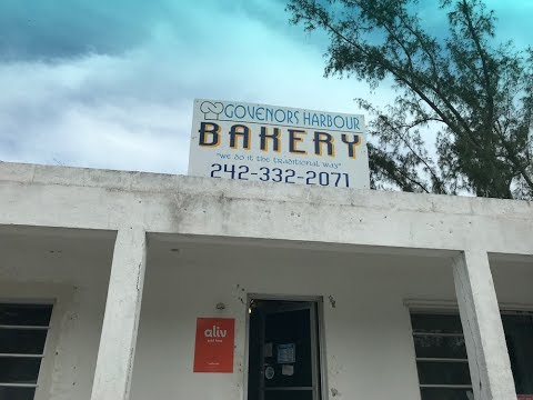 The Governors harbour Bakery in Eleuthera, Bahamas