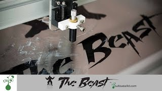 Vinyl Cutter Prototype - The Beast 3D Printer