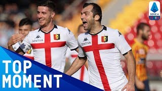 Pandev Scores Wonder Goal from 40 Metres! | Lecce 2-2 Genoa | Top Moment | Serie A TIM