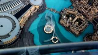 At The Top - Burj Khalifa | Dubai Mall Water Fountain Show | February 2012