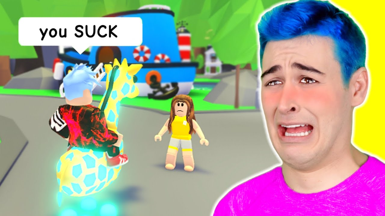 Try Not To *CRY CHALLENGE* In Adopt Me Roblox 🥺SADDEST Roblox Adopt Me Story EVER (Jeffo Reacts)