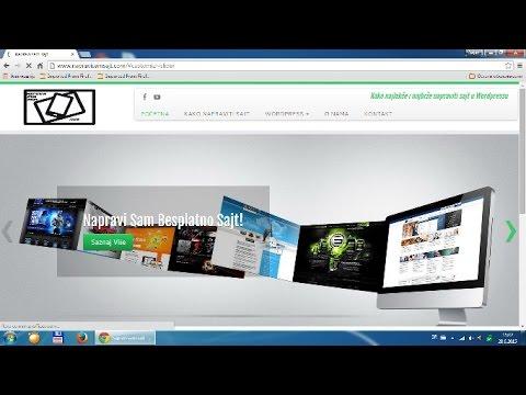 Kako napraviti sajt e-commerce, online prodavnica 2015