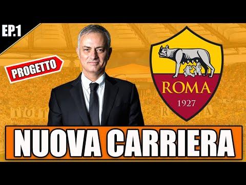 😍 LA NUOVA ROMA DI MOURINHO!! PROGETTO INCREDIBILE! FIFA 21 CARRIERA ALLENATORE ROMA #1