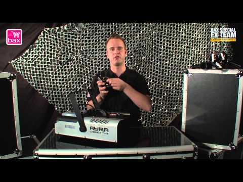 Ayra WSM03 MKIII 1500 Watt DMX rookmachine | Review