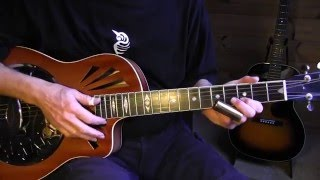 slide guitar lesson - booze and blues - open g tuning - free tab