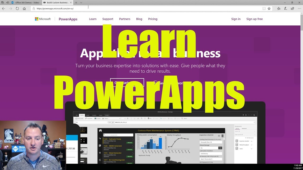 How To Create an App Using PowerApps with a SharePoint List