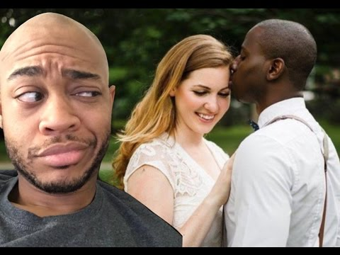 White girl dating african man