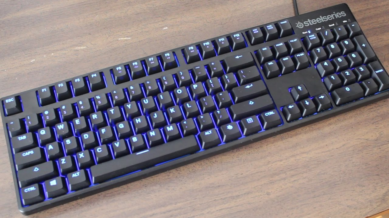 6e6e49658a7 SteelSeries Apex M500 Mechanical Keyboard Review - YouTube