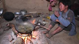 How to they make traditional delicious food and how to feed their domestic animals