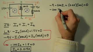 How to Solve a Kirchhoff s Rules Problem  (Must Watch)