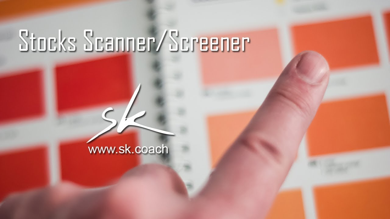 Stock Scannerscreener How To Find Stocks For Trading