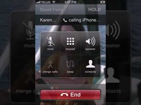 how to do 3 way calling on iphone how to do a 3 way call on an iphone 20795
