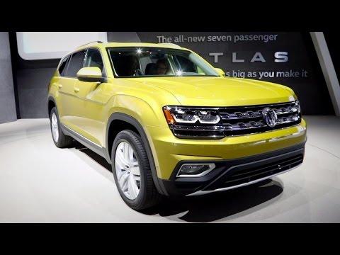 2018 Volkswagen Atlas - 2016 LA Auto Show