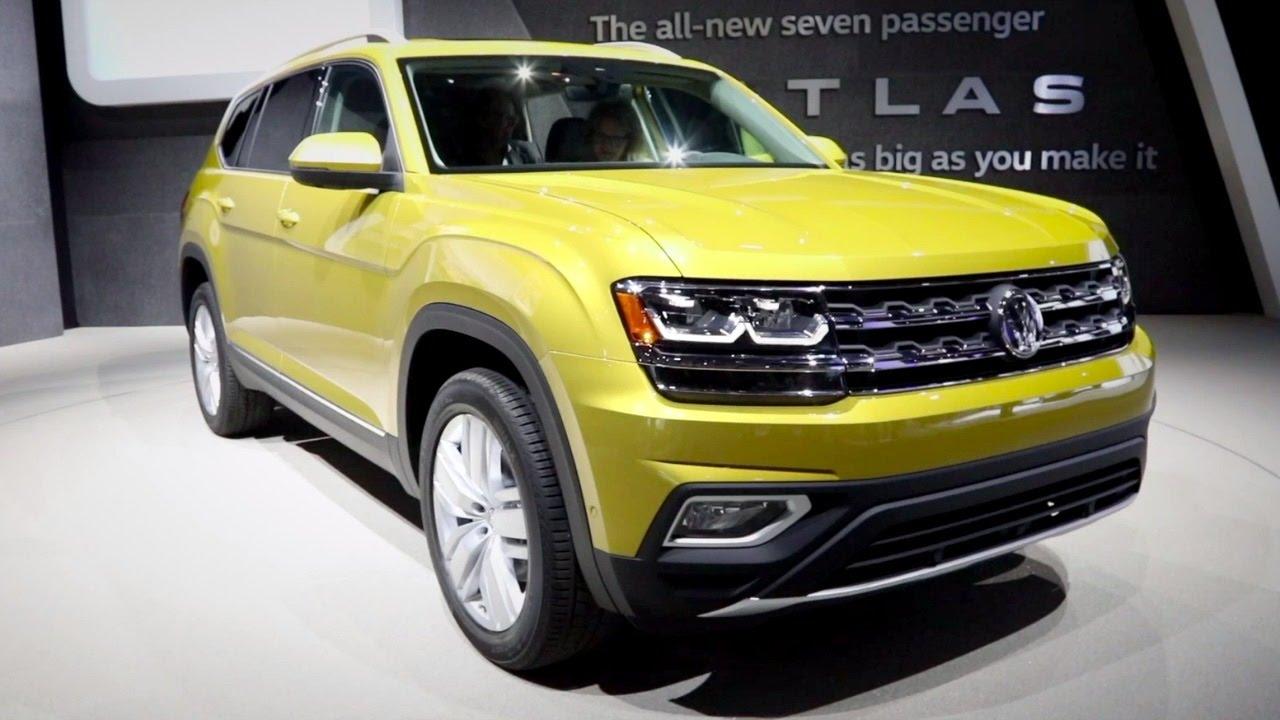 2018 Volkswagen Atlas 2016 La Auto Show