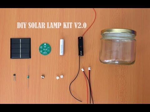 DIY SOLAR LAMP KIT V2.0