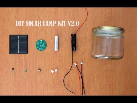 DIY Solar Lamp Kit V2.0    How to Make Solar Garden Light    Solar Lamp Kaise Banaye