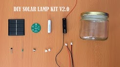 DIY Solar Lamp Kit V2.0 || How to Make Solar Garden Light || Solar Lamp Kaise Banaye