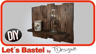 🔥Regal aus Europalette | Holz flammen | Paletten Möbel Upcycling DIY