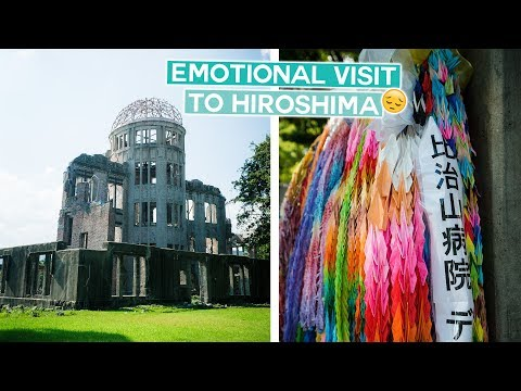 Nuclear Bomb Site in Hiroshima | Japan Vlog