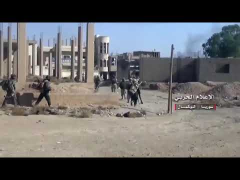 Hizbullah Resistance Amazing combat Fight Against Taqfri Terrorists ISIS In Bukamal
