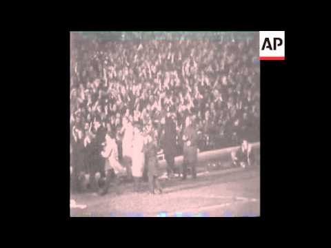 SYND 28-4-70 ARSENAL VERSUS ANDERLECHT IN THE EUROPEAN FAIRS CUP FINAL