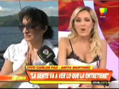 Anita Martínez: Los números no dejan nada