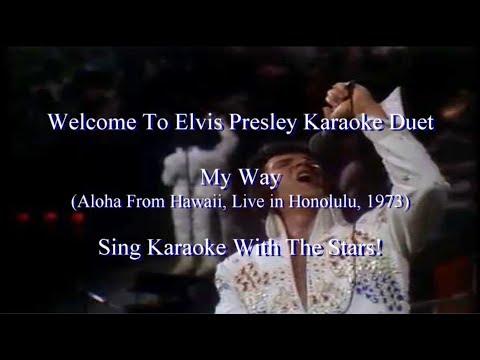 My Way Aloha From Hawaii 1973 Concert Karaoke Duet