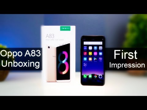 Oppo A83 Unboxing Smartphone Reviews by Phone World - Pro