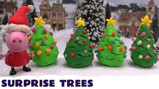 Peppa Pig Play Doh Surprise Trees Thomas And Friends Frozen Disney Princess Anna Elsa Sofia Kids