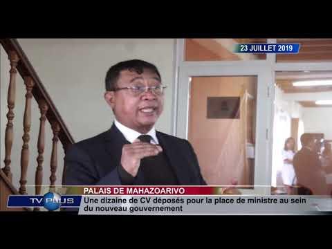 JOURNAL DU 23 JUILLET 2019 BY TV PLUS MADAGASCAR