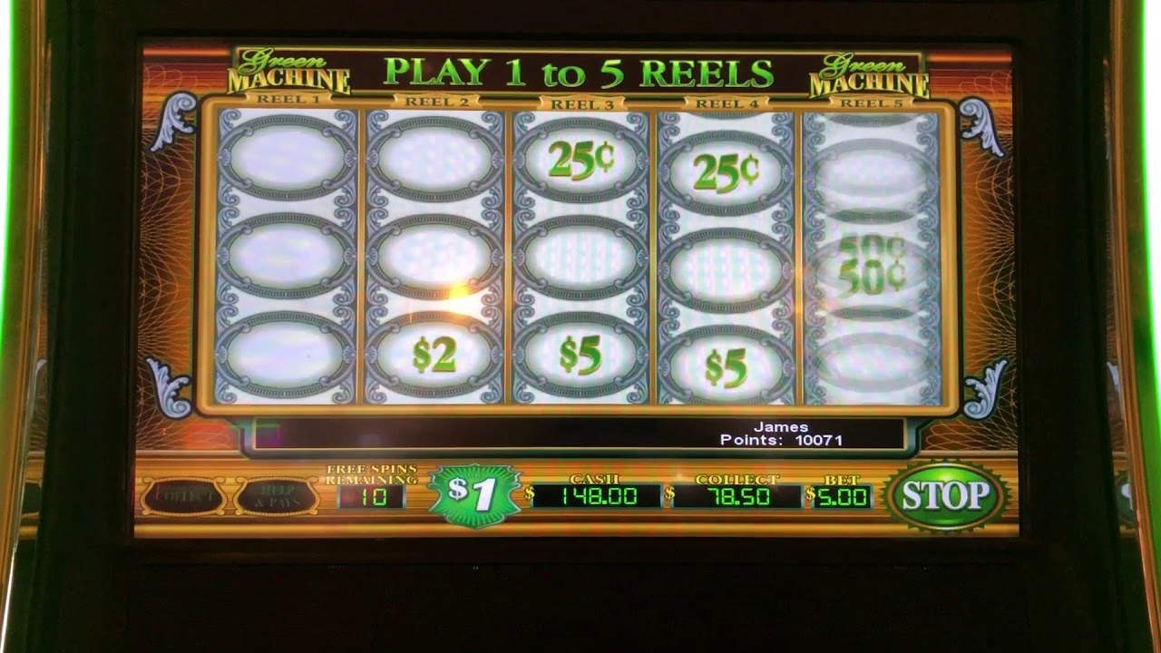 The Green Machine Slots