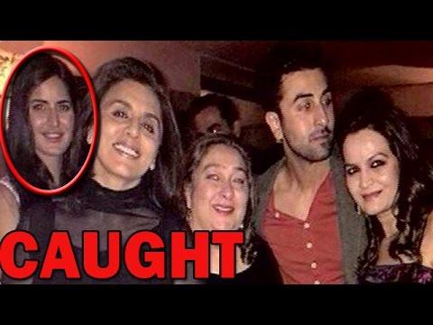 Katrina Kaif, Ranbir Kapoor & Neetu Kapoor's Private Party Pictures - LEAKED