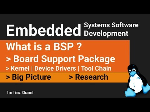 0x1b7 What Is A BSP | Board Support Package | Big Picture | Embedded Systems Software Development