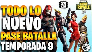 New Battle Pass Guide Season 9 FORTNITE I What are Fortbytes? I New Skins..